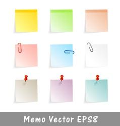 Memo vector