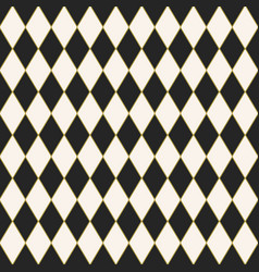 Seamless tiled harlequin pattern design vector