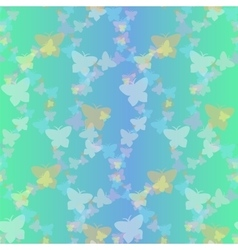 Soaring butterflies seamless pattern vector