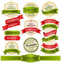 vintage badges and labels vector image