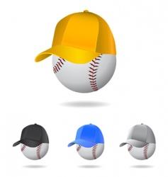 baseball mascot vector image vector image