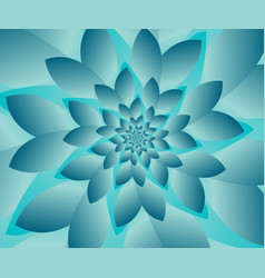 abstract modern optical floral design vector image