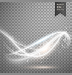 abstract transparent light effect vector image