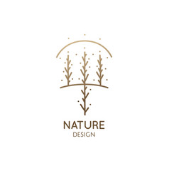 Abstract tree square logo vector