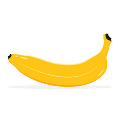 banana fruit icon isolated fruits and vegetables vector image