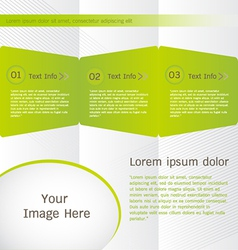 Brochure templates design vector