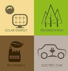 Eco concept vector