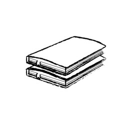 figure notebooks paper document notes object vector image