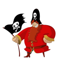 Funny Pirate vector image