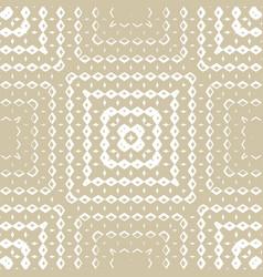 golden geometric ornamental seamless pattern vector image