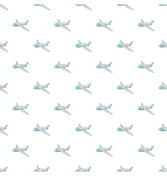 Plane pattern cartoon style vector