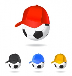 soccer mascot vector image
