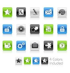 Web 20 Clean Series vector image