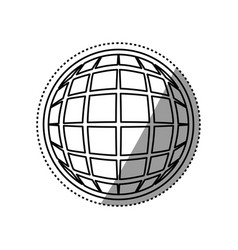 global online connection vector image vector image