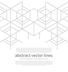 abstract cell vector image