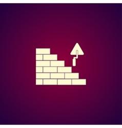 bricks icon Flat vector image