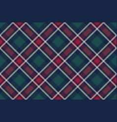 Check plaid diagonal fabric texture seamless vector