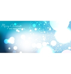 Christmas card New year vector image
