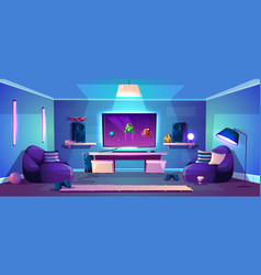 game room modern esports vector image