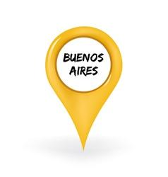 Location Buenos Aires vector