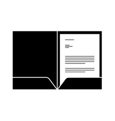 professional business brochure template or vector image