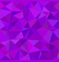 Triangle tile mosaic pattern background - polygon vector