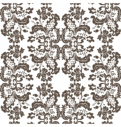 Vintage Damask Pattern ornament Imperial style vector image