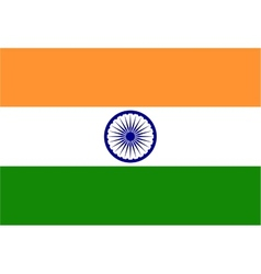 Background of india flag vector