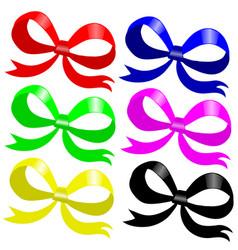 bows vector image vector image