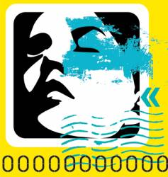 contemporary vector image vector image