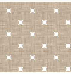 Seamless retro pattern Linen eps10 Vintage vector image