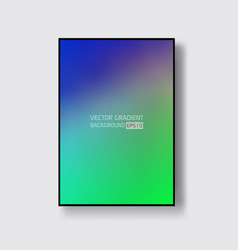 creative design poster with vibrant gradients vector image