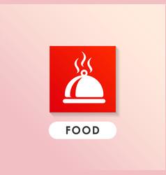 Dish icon design cook icon design vector