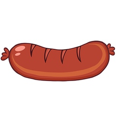 Grilled Sausage vector image