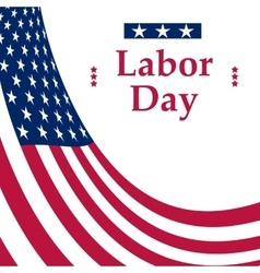 Labor day holiday in united states vector
