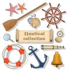 Nautical collection 3 vector