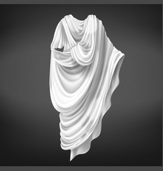 Roman toga ancient rome male citizens outerwear vector