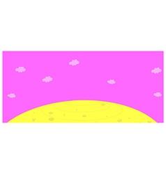 Sky clouds Cartoon vector image