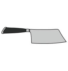 Steel meat cutter vector