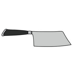 The steel meat cutter vector