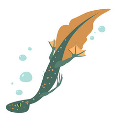 Water lizard icon cartoon style vector