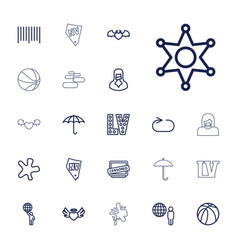 22 grunge icons vector