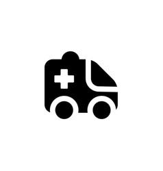 ambulance emergencey icon vector image
