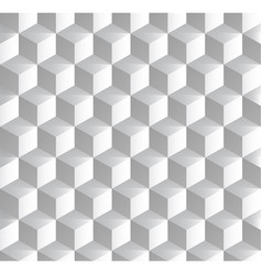 Background with isometric cubes patterns vector