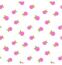 berry ornament creative flat vintage print vector image