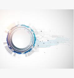 Futuristic technology innovative concept circuit vector