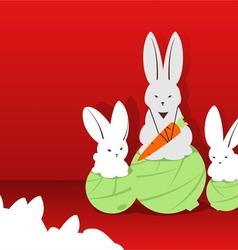 Rabbits champion vector
