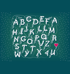 Romantic cipher text i have totally fallen 4 u vector