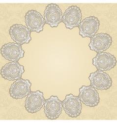 round doily2 vector image