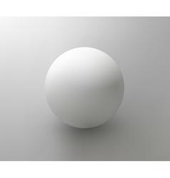 plastic ball element for design vector image